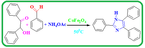 CoFe2O4 as green and efficient catalyst for synthesis of multisubstituted imidazoles