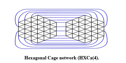 Degree-based topological descriptors of Star of David and Hexagonal Cage networks